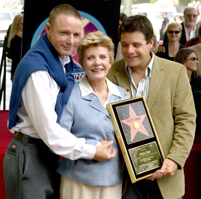 Patty Duke Honored with a Star on the Hollywood Walk of Fame for Her Achievements in Film