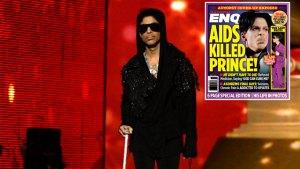 Prince AIDS Death F
