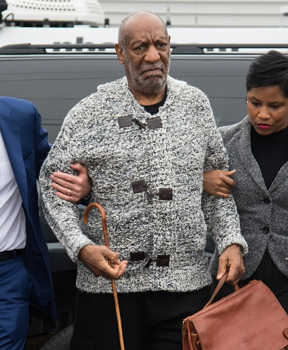 Bill Cosby arrives at the Montgomery County District Court 38-1-02 Honorable Elizabeth McHugh at Elkins Park, PA for his arraignment