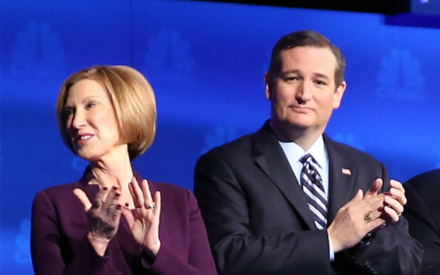 ted cruz carly fiorina F