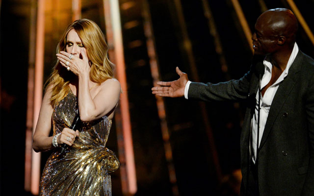 celine dion tears billboard music awards F