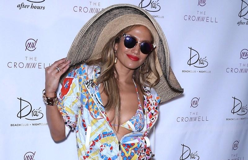 "Host Jennifer Lopez & Casper Smart attends the ""Carnival Del Sol"" Pool Party at Drai's Beachclub and Nightclub.  Held at Drai's Beachclub and Nightclub at The Cromwell Las Vegas Hotel & Casino, Las Vegas, NV.??  Pictured: Jennifer Lopez Ref: SPL1292705  290516   Picture by: Photo Image Press / Splash News  Splash News and Pictures Los Angeles:310-821-2666 New York:212-619-2666 London:870-934-2666 photodesk@splashnews.com"