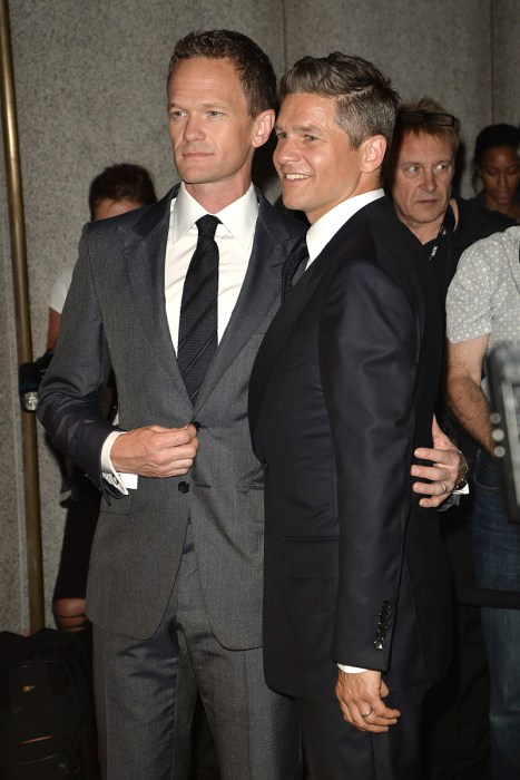 Neil Patrick Harris and David Burtka Leave Tom Fords Fashion Show