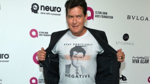 charlie sheen hiv positive cover-up lies lovers