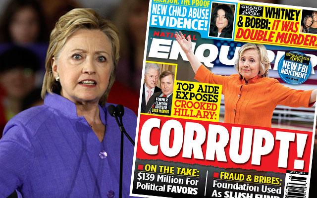 hillary clinton foundation scandal cash payoffs