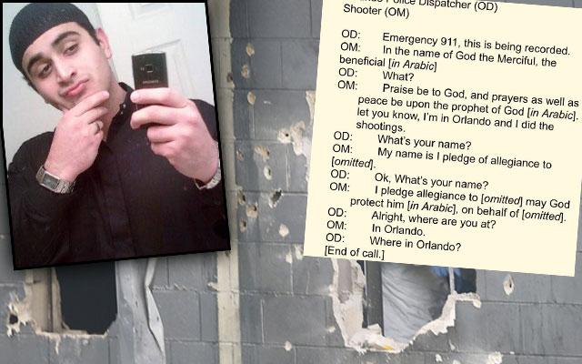 orlando terrorist omar mateen 911 transcripts