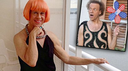 richard simmons sex change photos national enquirer transgendered