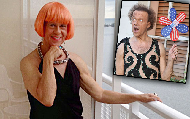 richard simmons sex change photos national enquirer transgendered