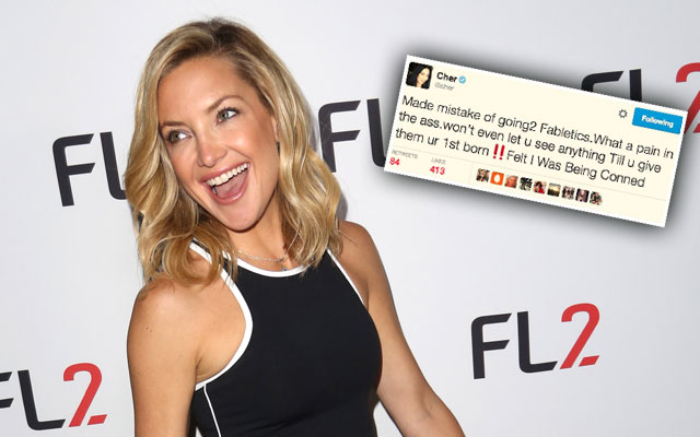 cher kate hudson scandals fabletics feud