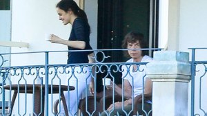 mick jagger girlfriend pregnant dad 72