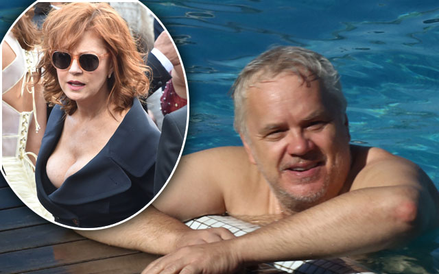 tim robbins fat old now susan sarandon