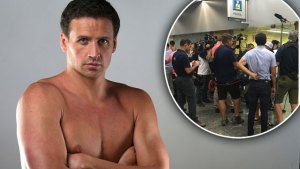 ryan lochte robbery scandal rio olympics