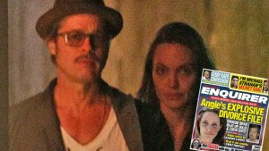 angelina jolie brad pitt divorce cheating national enquirer