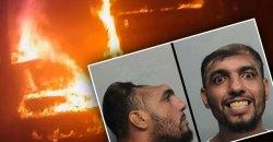 half head man arson miami video