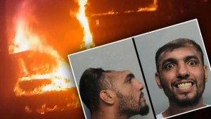half head man arson miami video
