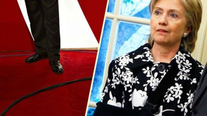 Hillary Clinton Injury Security Detail Laughed Broken Elbow