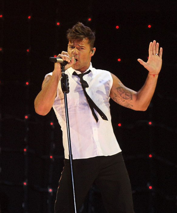 Ricky Martin Performs In Malaga, Spain