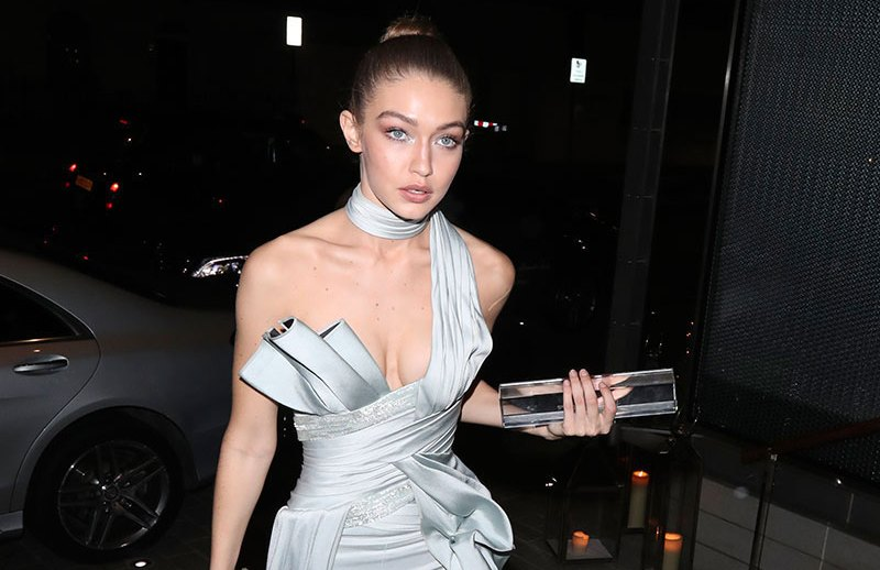 The Fashion Awards 2016 at Royal Albert Hall in London and afterparty at Berkley hotel  Pictured: Gigi Hadid Ref: SPL1404694  051216   Picture by: Splash News  Splash News and Pictures Los Angeles:310-821-2666 New York:212-619-2666 London:870-934-2666 photodesk@splashnews.com