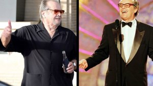 jack nicholson weight gain fat now 2016