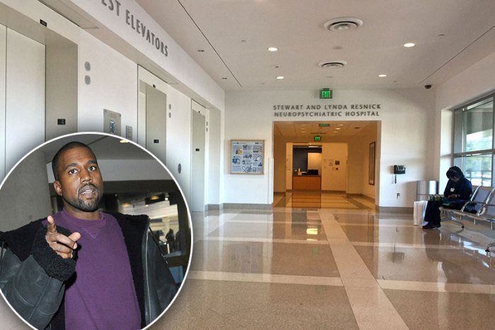 *EXCLUSIVE* A look inside UCLA Medical Center where Kanye West is being treated