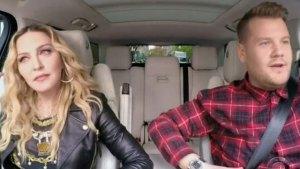 madonna james corben carpool karaoke feud