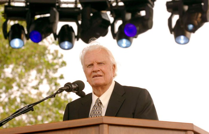 Billy Graham's Farewell Message of his Last Crusade