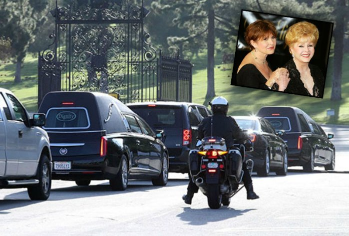 Debbie Reynolds And Carrie Fisher Memorial And Funeral