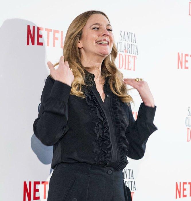 US actress Drew Barrymore presents 'Santa Clarita Diet' the new Netflix series