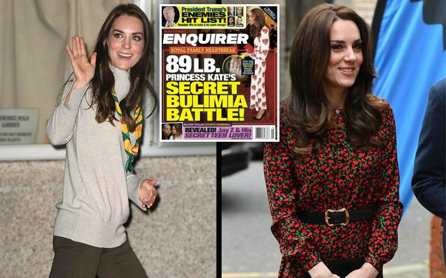kate middleton bulimia health