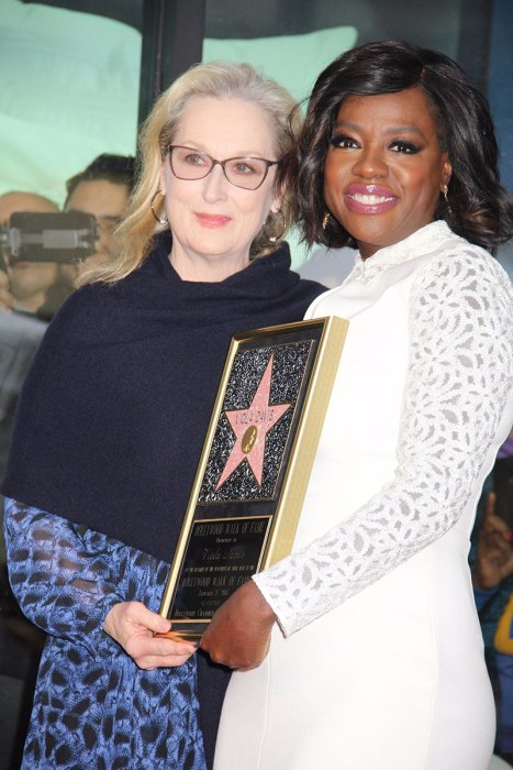 Viola Davis receives a star on the Hollywood Walk of Fame
