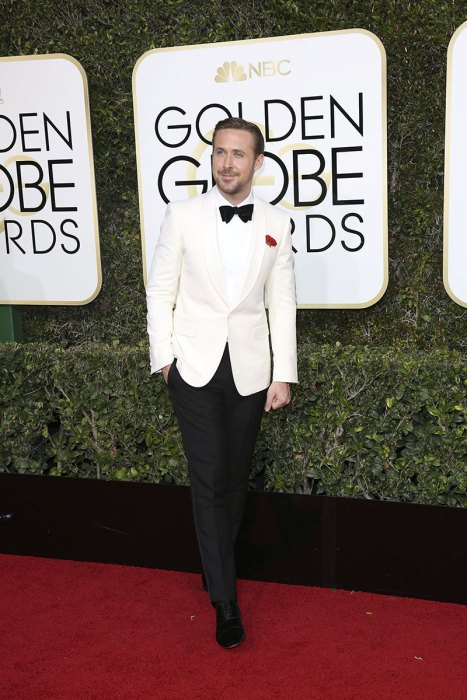 Stars dazzle on the red carpet at the 2017 Golden Globe Awards