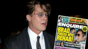 brad pitt drugs rehab divorce