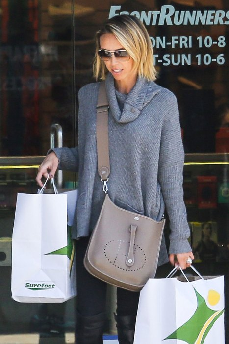 *EXCLUSIVE* Giuliana Rancic indulges in some retail therapy