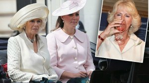 kate middleton camilla royal feud