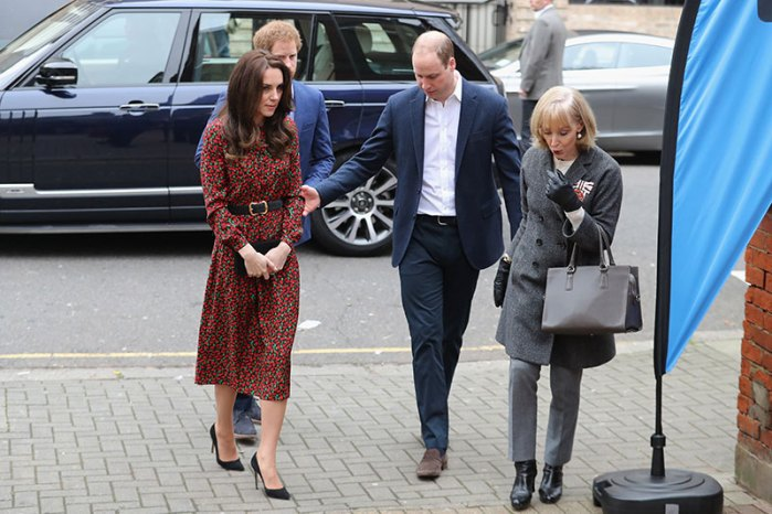 The Duke And Duchess Of Cambridge & Prince Harry Attend The Mix Christmas Party