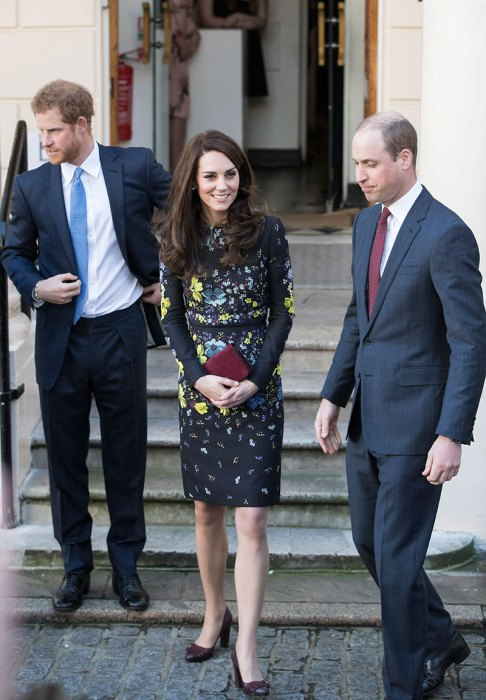 The Duke & Duchess Of Cambridge And Prince Harry Outline Plans For Heads Together Ahead Of The 2017 Virgin Money London Marathon