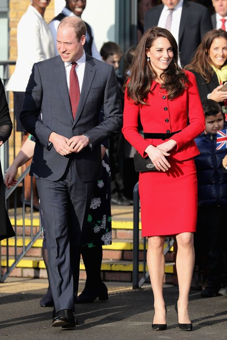 The Duke & Duchess Of Cambridge Attend Place2BeBig Assembly With Heads Together For Children's Mental Health Week