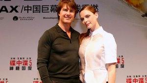 Tom Cruise & Rebecca Ferguson
