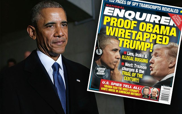 donald trump barack obama wiretap