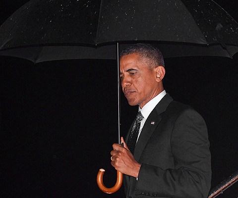 Pres. Obama, deflector shield