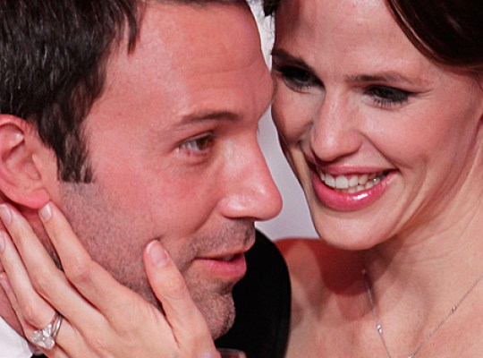 LOS ANGELES, CA - JANUARY 14: Actor Ben Affleck and actress Jennifer Garner pose during the 16th annual Critics' Choice Movie Awards at the Hollywood Palladium on January 14, 2011 in Los Angeles, California.