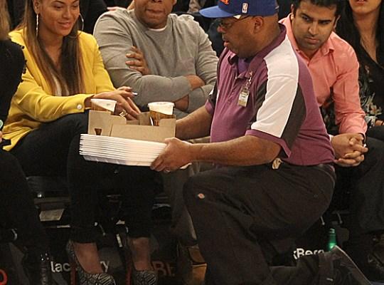 Beyonce, Jay-Z, beer man