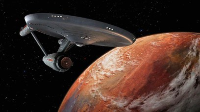 The original Starship Enterprise
