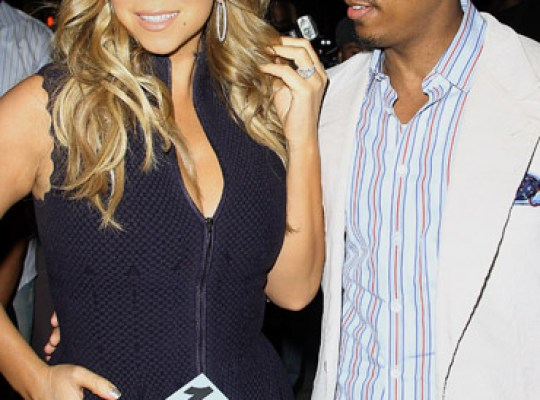 MARIAH CAREY and hubby NICK CANNON