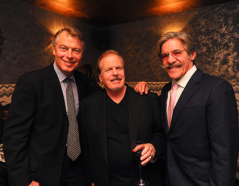 Richard Johnson, Mike Walker, Geraldo Rivera