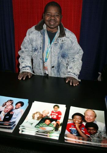 Gary chafed at his permanent association with <i>Diff'rent Strokes</i> but also tried to capitalize on it.