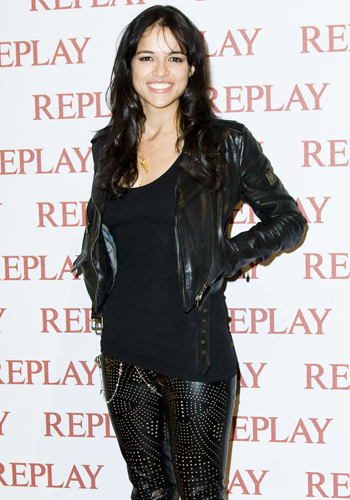 Michelle Rodriguez at the Replay Fashion Party
