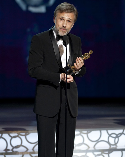 Best Supporting Actor Christoph Waltz