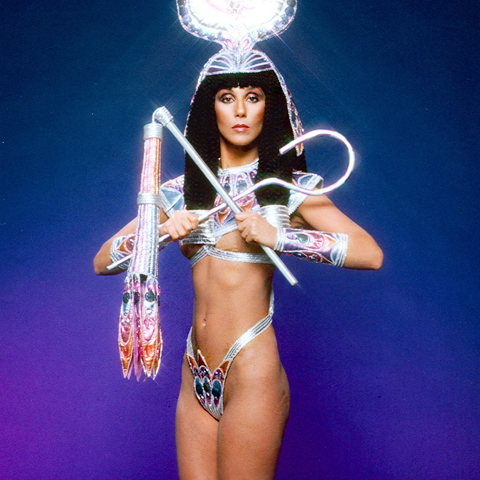 5. Cher had her ribs removed
