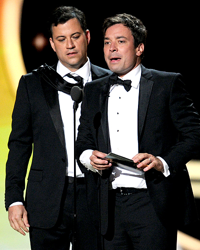 JIMMY KIMMELL & JIMMY FALLON
